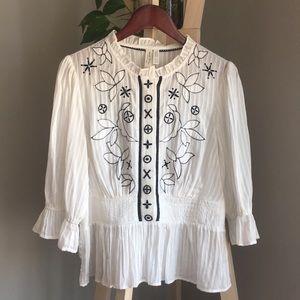 EUC Anthro blouse